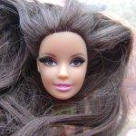 Голова Барби на молде афродита The Look Red Carpet 2013