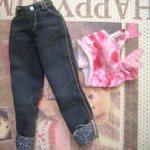 Топ и джинсы от Барби Generation Girl Lara 1998 год