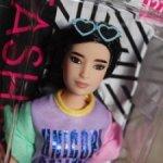 Барби Фешенка Годдес Fashionistas (№127) 2019 год / Новая в коробке