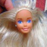 Голова Барби Cool Times Barbie 1988 год