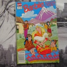 Журнал Комиксов Барби Фешен от Marvel (июль, 1991 год)