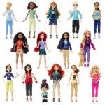 """Новые принцессы Диснея из сета """"Ральф против интернета"""", набор 15 кукол"""