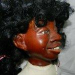 Афроамериканская девочка из дерева от Nancy Bruns, 1986г.