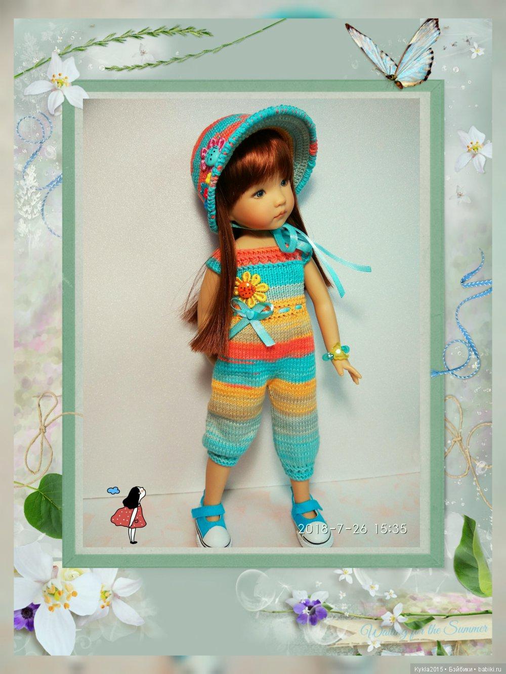 Наряд для куклы от Dianna Effner.