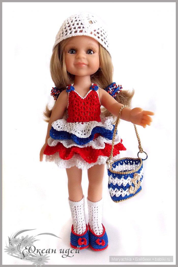 Комплект нарядной одежды - Морской круиз для куклы Паола Рейна