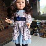 Кукла Лидия (коллекция 2020), №1 шарнирная, 60 см, Паола Рейна