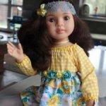 Кукла Лидия шарнирная, Паола Рейна, 60 см