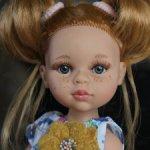 Кукла Даша с хвостиками (новинка 2021), Паола Рейна, № 124