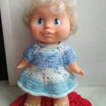 Кукла Женя №2 из СССР фабрики Весна