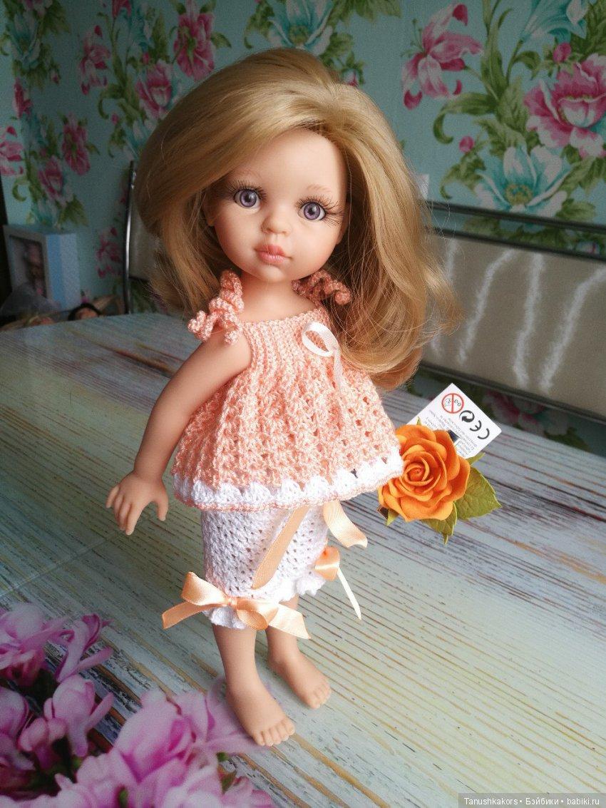 Карла от Паола Рейна в вязаной пижамке.