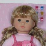 Красивая куколка в розовом.