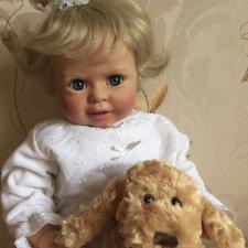 Коллекционная кукла Полинка