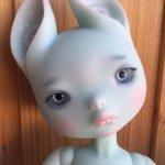 Голубая Зайка от Dust of Dolls. Рассрочка на любой удобный Вам срок.