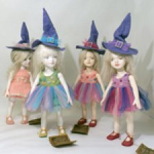 Карамельные  ведьмочки