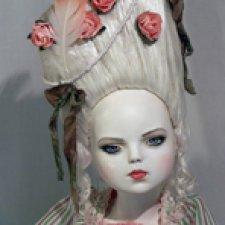 Авторская кукла Атенаис. Предчувствие