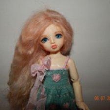 Моя Оливия - прекрасная девочка в моей куклосемье, БЖД от  Illusion Spirit (26 см)