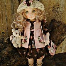 Бетти. Моя новая текстильная кукла