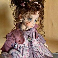 Мишель. Текстильная кукла