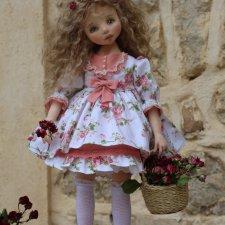 Оленька. Текстильная кукла - душа, завернутая в ткань