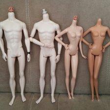 Лот модельных нешарнирных тел