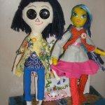 Что я сделала для своей дочки. Авторская текстильная кукла