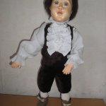 Митенька, новая авторская кукла у нас дома
