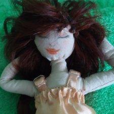 Мечтательная Соня. Кукла из ткани