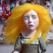 Чудо с рыжими волосами. Новая кукла
