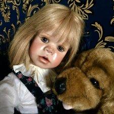 Цена снижена временно , без рассрочки !  Чудесная малышка от Сьюзан Крей ( Susan Krey ) . WOP.