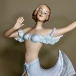 Фарфоровая статуэтка « Танцовщица ». Wallendorf. Германия .