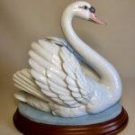До 10 мая -скидка 15 %   Фарфоровая статуэтка . Лебедь . Большая ! Lladro. Испания .