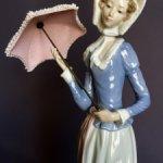 Дама с зонтиком . Lladro. Испания