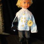 наряд мушкетера для куклы Нина