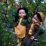 комплекты для кукол паоло рейна-мальчиковый и девичий
