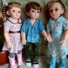 Принцессы и мальчик... или не совсем обычные куклы