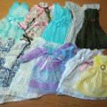 Платья для bjd minifee, тело актив