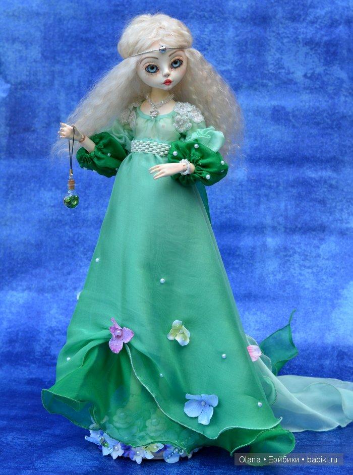 Кукла-принцесса своими руками