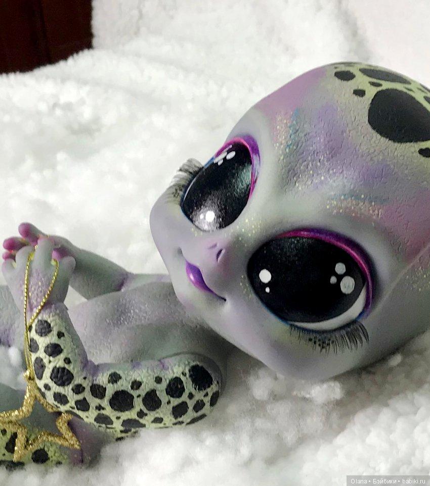 Reborn, Doll, Мейша, Alien, Матковская, кукла, ооак, реборн, инопланетянин