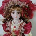 Фарфоровая кукла Анита 14
