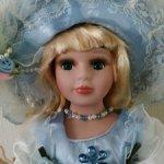 Фарфоровая кукла Инесса 12