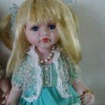 Фарфоровая кукла Лика 12