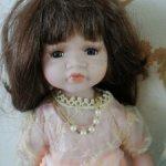 Фарфоровая кукла Мура 12