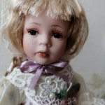 Кукла фарфоровая 12 Рози. Почта по центральной России в цене