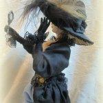 Жертва моды. Авторская кукла ручной работы