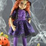 """Наряд Ведьмочки для куклы 13"""" Диана Эффнер"""