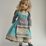 """Новый наряд для 13 """" куклы Дианы Эффнер"""