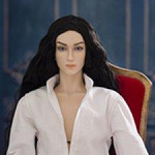 Фабьен. Шарнирная фарфоровая кукла