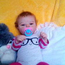 Малышка Элечка выполнена из лимитного молда Элис от Кейси Брайс