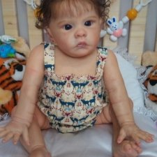 Кукла реборн Малышка Лили