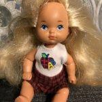 Винтажная малышка Rosebud от Mattel 1976г.